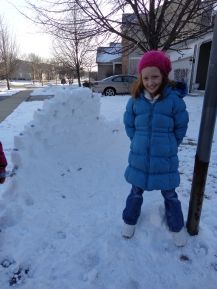 Snow wall!! 2013 002