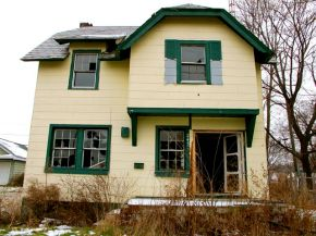 abandonedhousesinMichigan