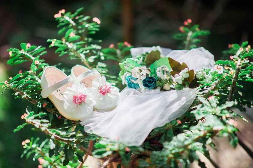 adorable blur bouquet branches