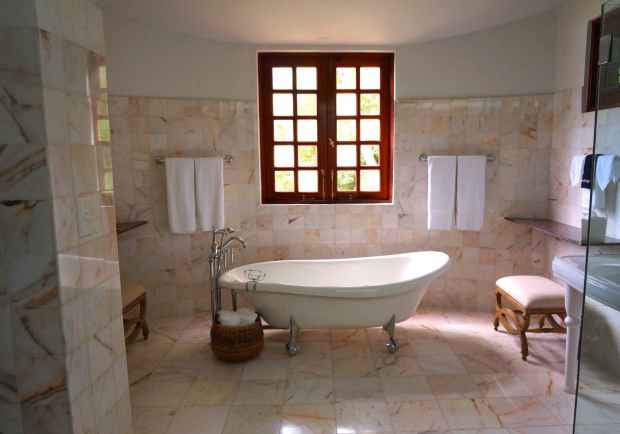 tiles window bathroom marble