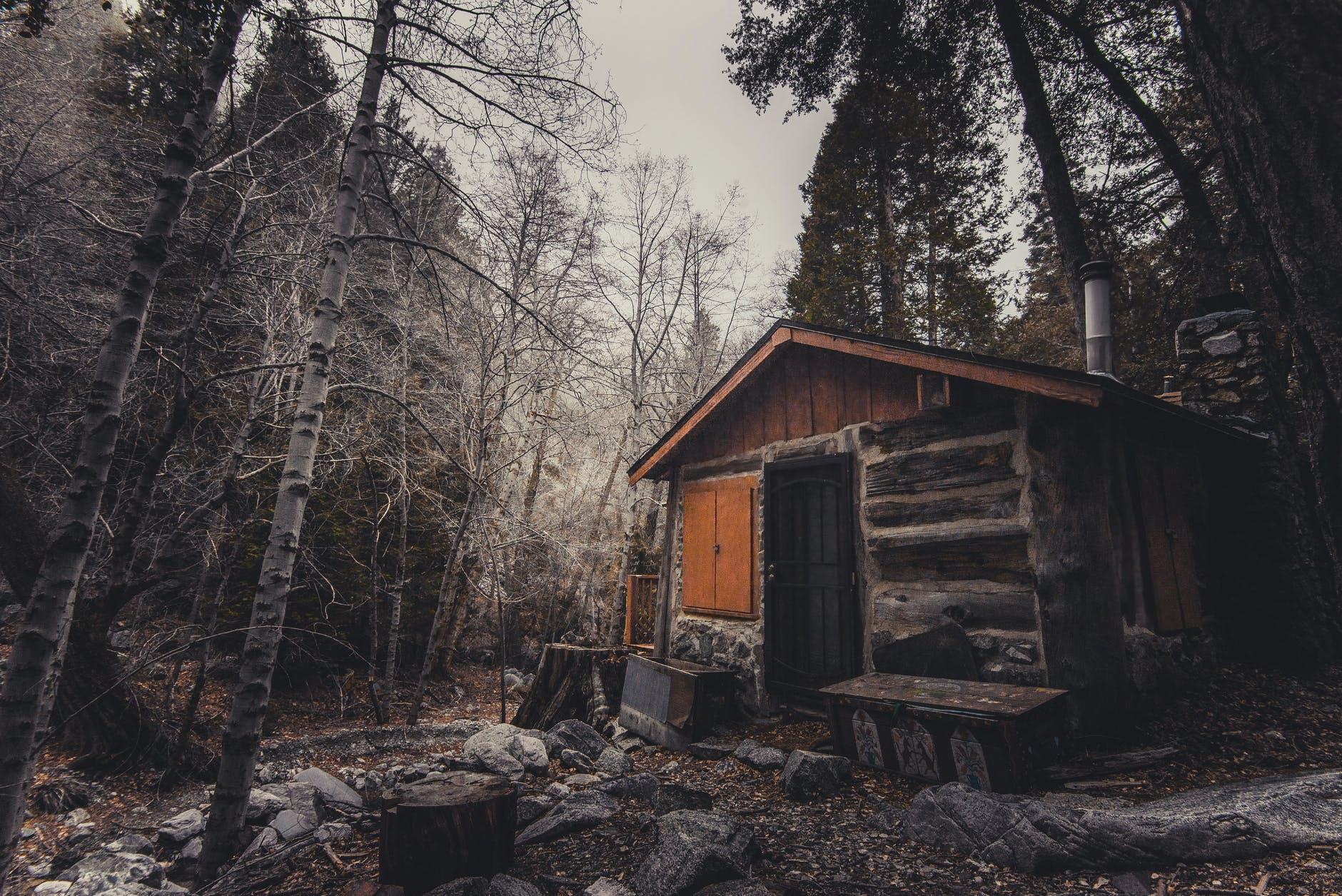 abandoned broken cabin calamity
