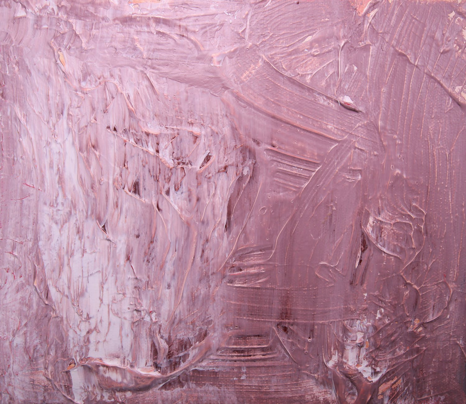 pink abstract painting